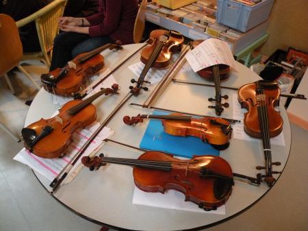 Goûter en musique : le violon